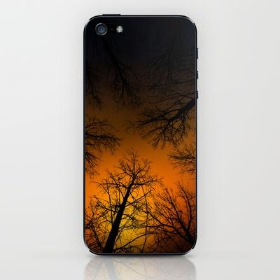 Por las ramas iPhone & iPod Skin by unaciertamirada - $15.00
