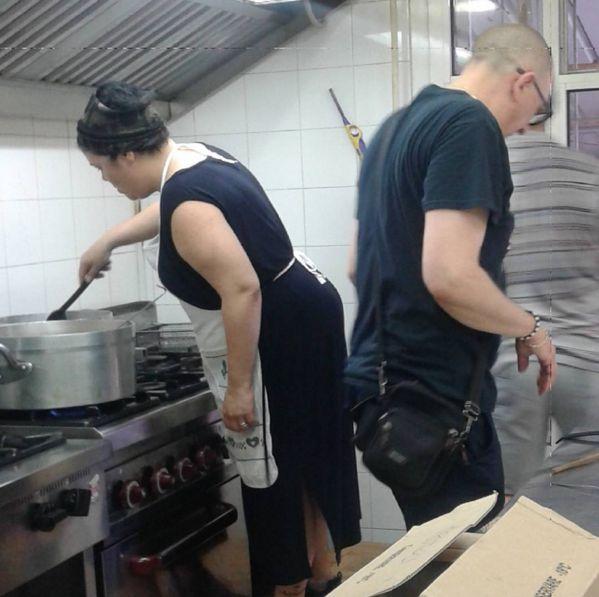 il 4 giugno 2017? Siamo di nuovo in cucina a preparare il pranzo dei volontari! Oggi si tirano le somme sul successo o meno della sagra.