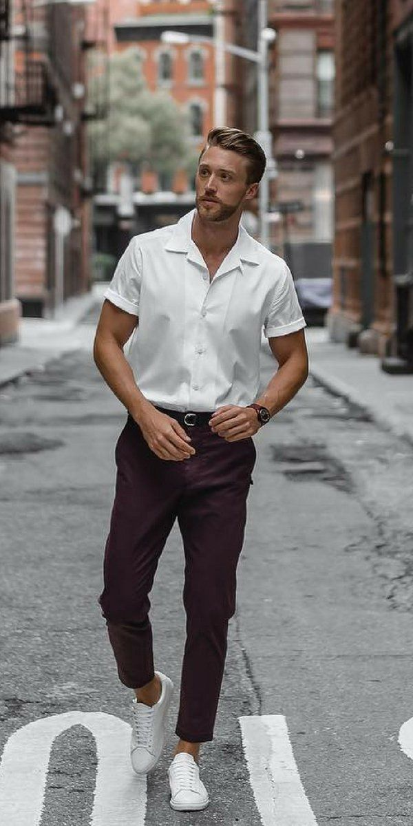 0056efba19d Want to look sharp in simple outfits  Look no further. Check out these 5  simple outfits I ve curated for you today.  simple  outfits  mens  fashion   street ...