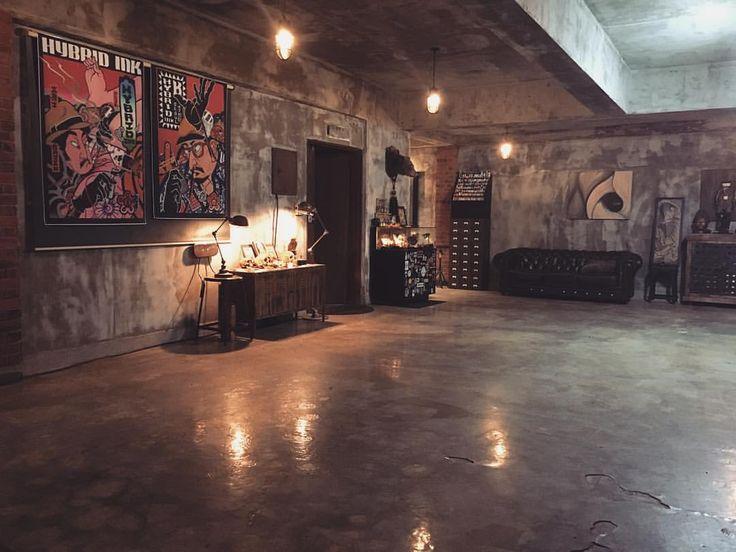 Hybrid ink studio in Seoul Korea.
