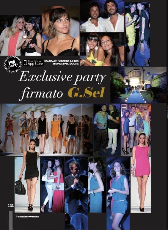 Exclusive party voor G.Sel in Italië!