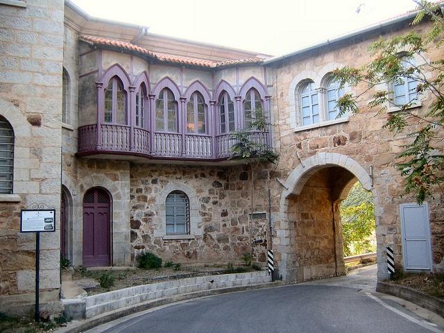 house of the director of mines. Ingurtosu - Sardinia