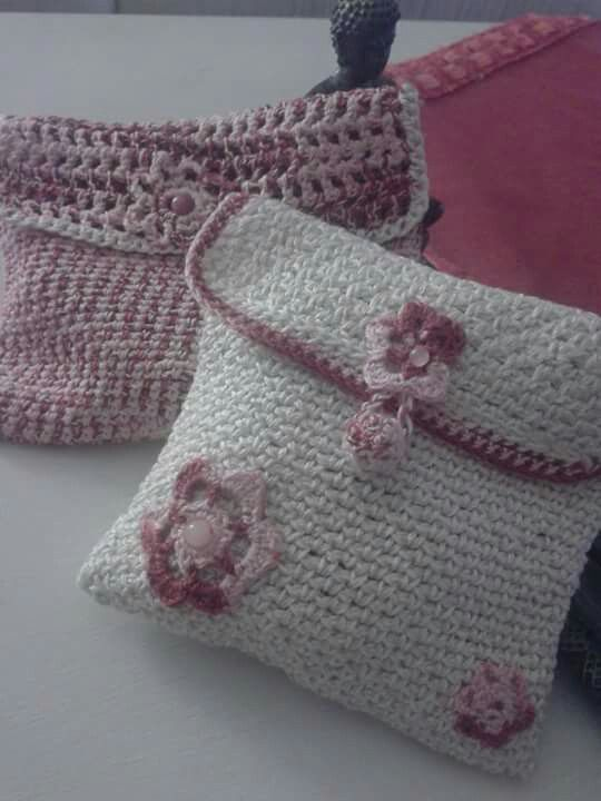 Pochette crochet ☆