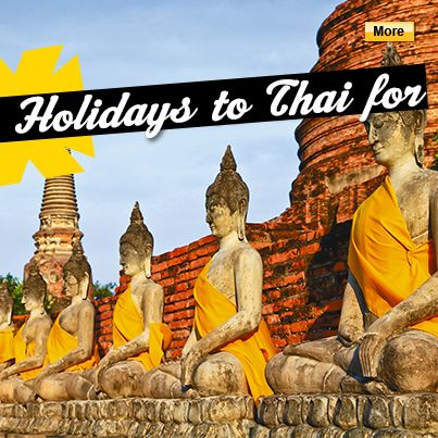 Top Thailand deals #StudentFlights #Thailand