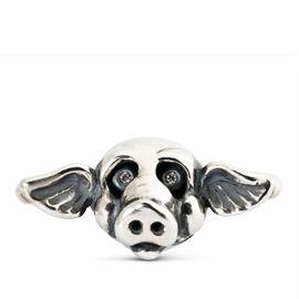Pig - X by Trollbeads #ZbyAlikiVergidou