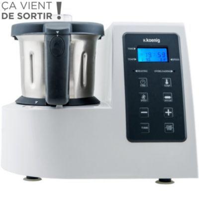 Robot cuiseur H.KOENIG HKM1028 Robot culinaire chauffant, Robot multifonction sur Boulanger