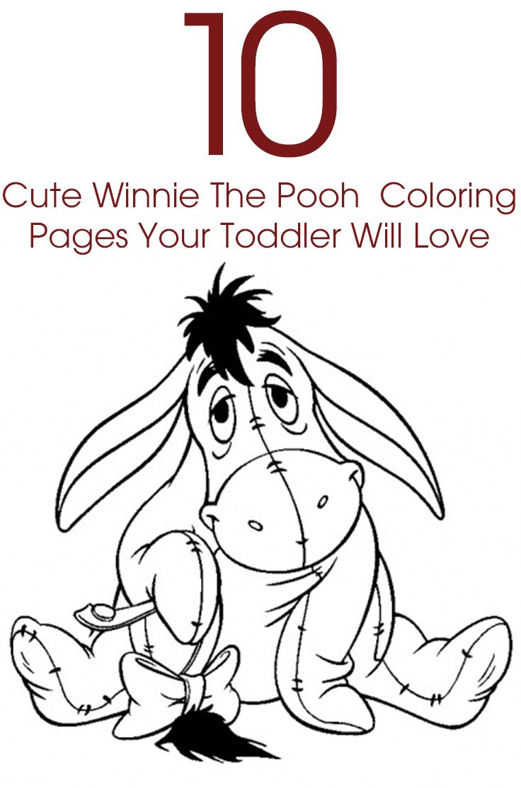 Winnie the pooh happy birthday coloring pages - Top 10 Cute Winnie The Pooh Coloring Pages Your Toddler Will Love