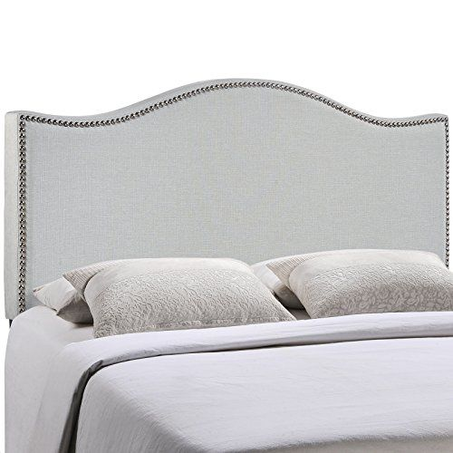 Modway Curl Linen Fabric Upholstered Full Headboard With