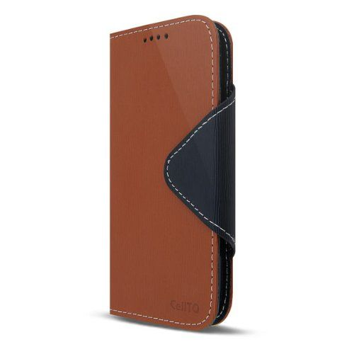 Cellto Samsung Galaxy S5 Premium Wallet Case with Screen Protector [Slim Ultra Fit] [Smooth Brown] Diary Cover. For more Galaxy S5 Wallet Cases, please visit http://www.galaxy-s5-cases.com/samsung-galaxy-s5-wallet-case