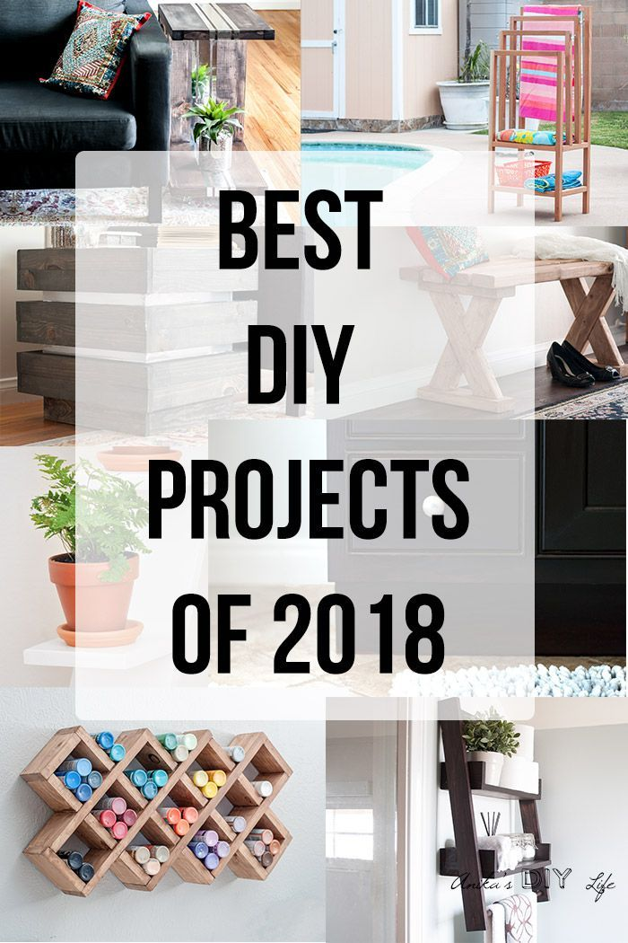 Top 10 Diy Projects Of 2018 Reader Favorites Easy Woodworking Projects Popular Woodworking Woodworking