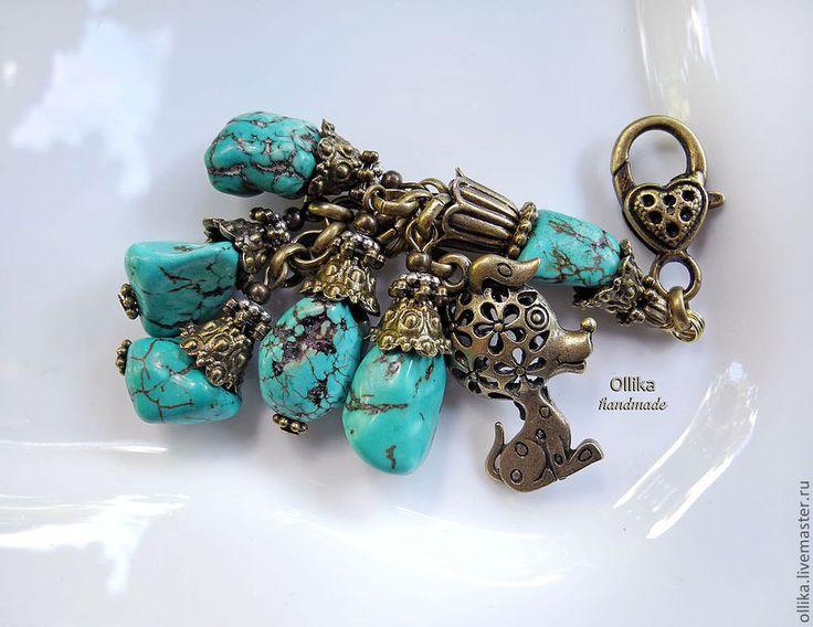 Купить Брелок Мой Ласковый и Нежный Зверь, брелок для ключей, на сумку в интернет магазине на Ярмарке Мастеров