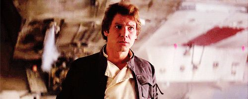 """All of which neatly fits with Han Solo's reputation as a reckless space-criminal. 