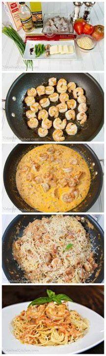 Spaghetti with Shrim Spaghetti with Shrimp in a Creamy Tomato...  Spaghetti with Shrim Spaghetti with Shrimp in a Creamy Tomato Sauce Recipe : http://ift.tt/1hGiZgA And @ItsNutella  http://ift.tt/2v8iUYW