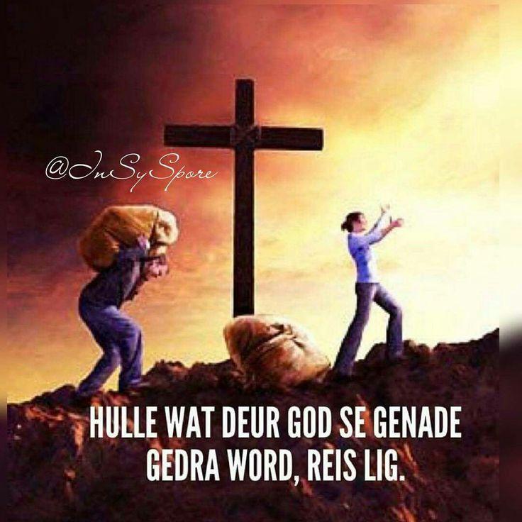 Hulle wat deur God se genade gedra word reis lig... #Afrikaans #grace #iBelieve #mooiwoorde @InSySpore