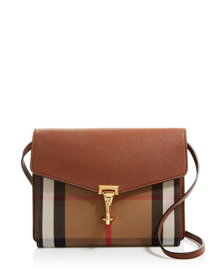 Burberry Small House Check Macken Crossbody   Bloomingdale's