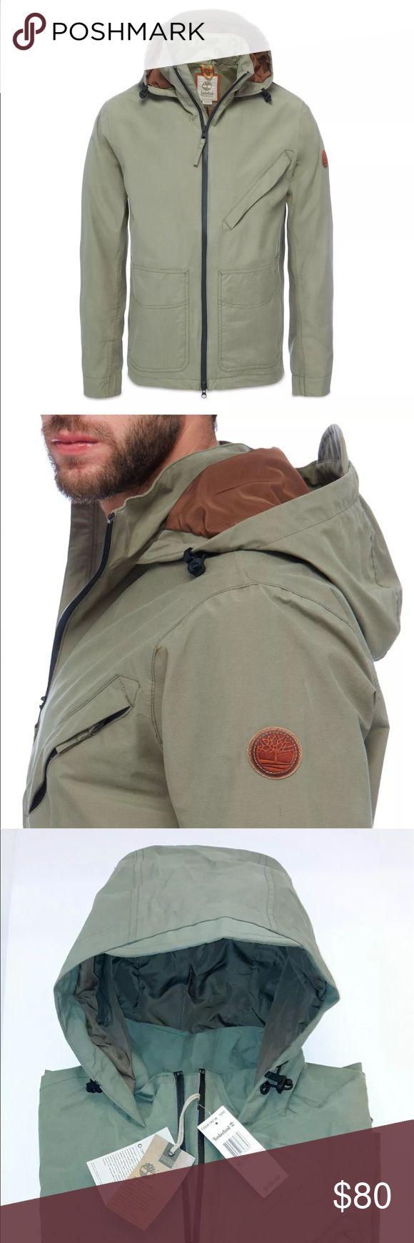 Men's TIMBERLAND winter jacket MEN'S TIMBERLAND MOUNT CLAY WHARF WATERPROOF BOMBER TB0A1AFW 590 Timberland Jackets & Coats Lightweight & Shirt Jackets