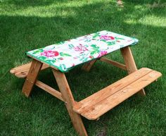 Sew Can Do: CraftShare: Laminated Tabletop Tutorial