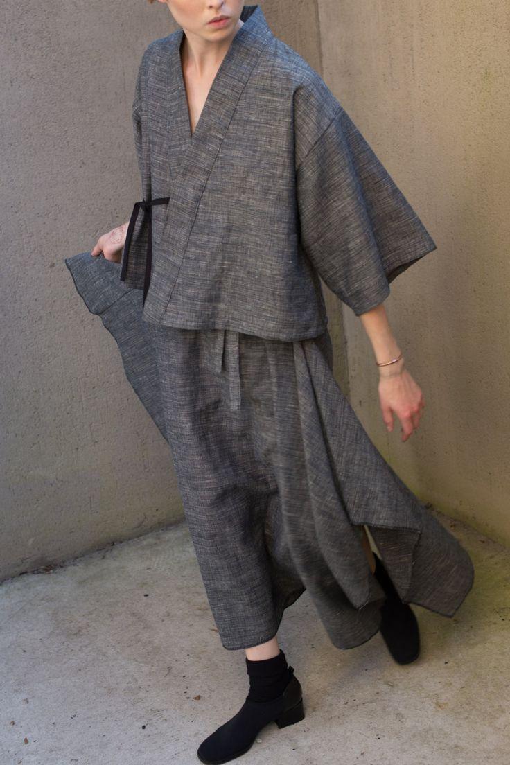 Haori Jacket by laurenwinterco on Etsy