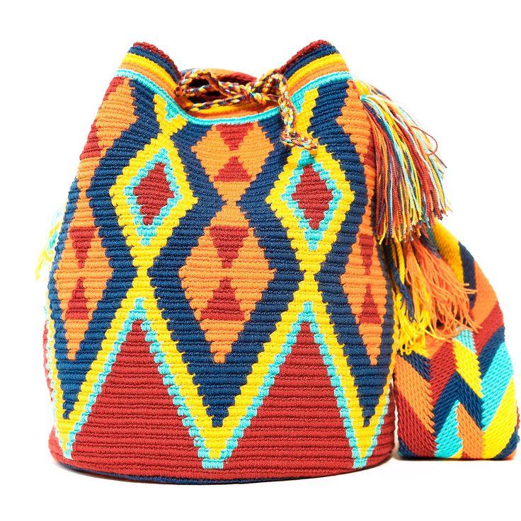 Bolso Wayuu Mochila | WAYUU TRIBE – WAYUU TRIBE - Wayuu Mochila Bags | Free Shipping - USA | Global