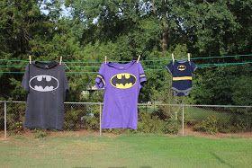 Batman baby announcement