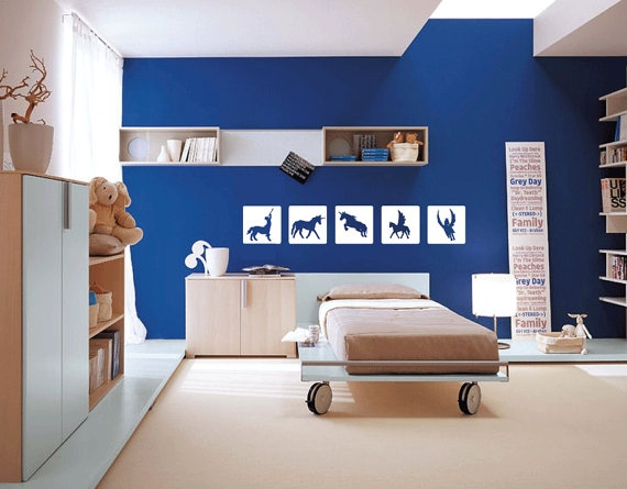 Blue Painted Rooms Ideas