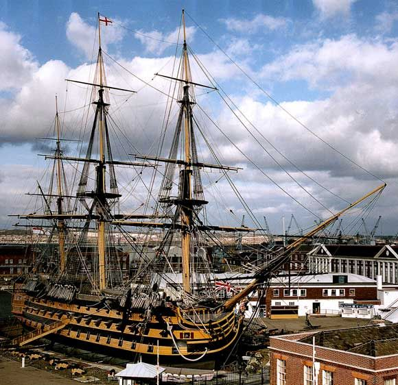 On this day 7th May, 1765 HMS Victory was launched at Chatham in Kent. The flagship of Admiral Horatio Nelson. The ship is now preserved at Portsmouth in Hampshire, England