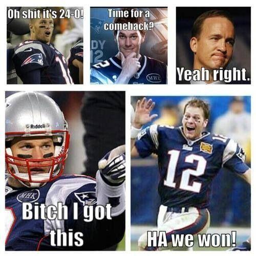 Tom Brady is amazing <3 #Patriots #Humor