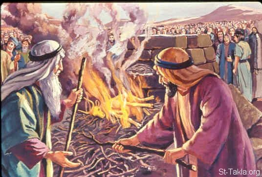 Then Moses took the calf which they had made, burned it in the fire, and ground it to powder; and he scattered it on the water and made the children of Israel drink it. (Exodus 32:20)