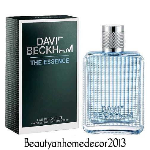 David Beckham The Essence Cologne by David Beckham 2.5oz EDT Spray MEN NIB #DavidBeckham