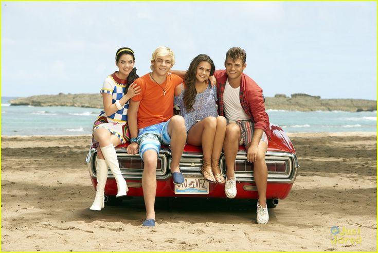 Grace Phipps, Ross Lynch, Maia Mitchell and Garrett Clayton #TeenBeach2