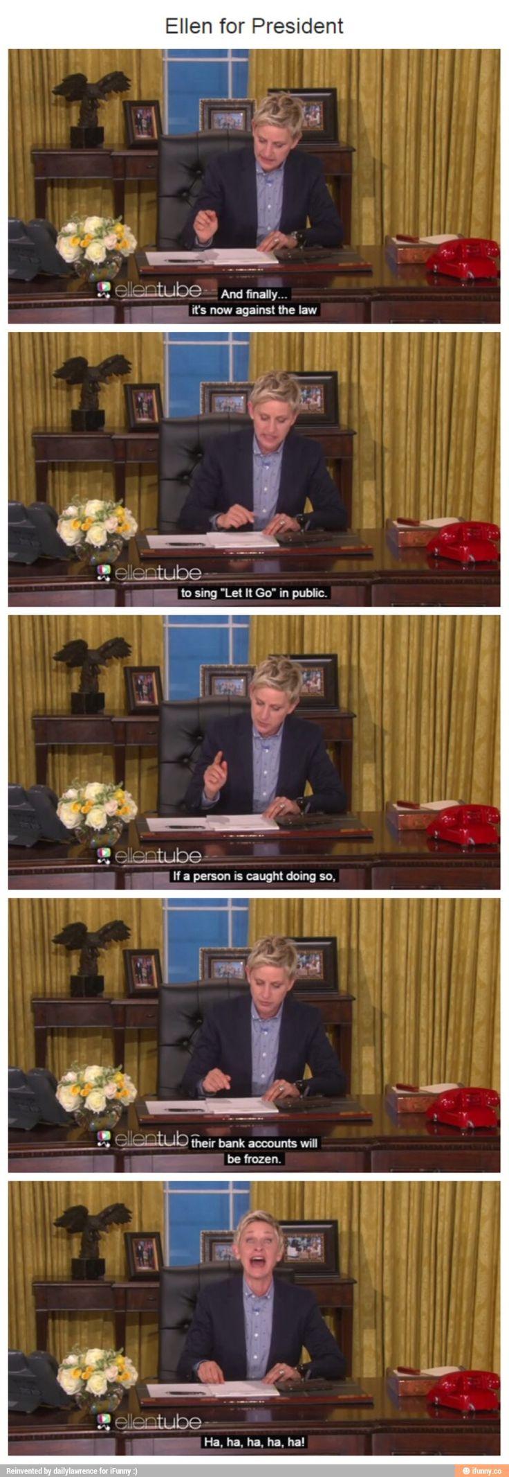 Who else loves/likes Ellen degenourous