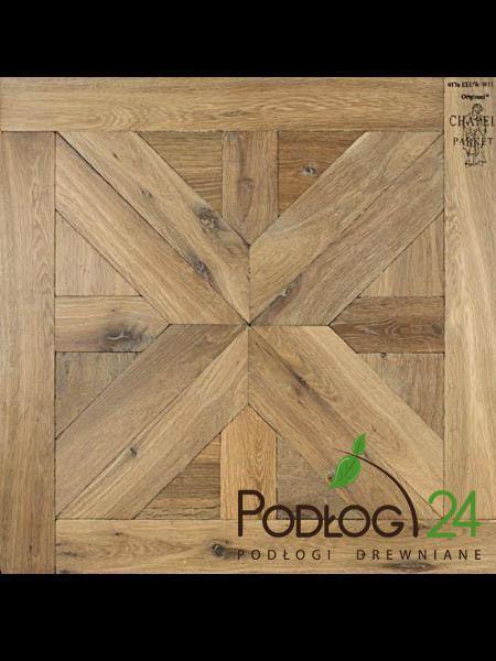 Parkiety i podłogi drewniane Warszawa | Chapel Parket Cassette Castel – podłoga kasetonowa z drewna litego dąb