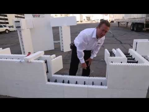 How to Build a Foundation from Start to Finish using Insulating Concrete Forms ICF - YouTube