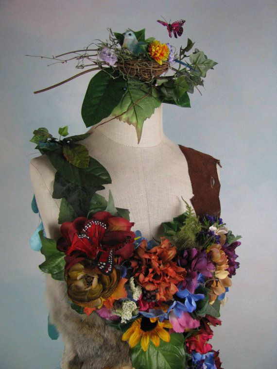 DREAM BOHEMIAN Mother Nature Flower Fairy by DreamBohemian on Etsy