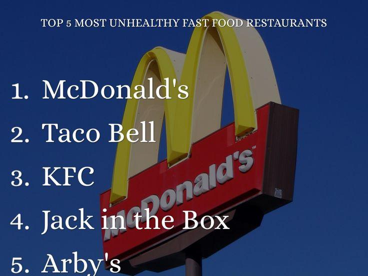 Top Unhealthy Fast Food Restaurants | top 5 most unhealthy fast food restaurants sh photo by monkeyc net