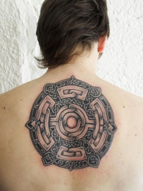 Celtic Tattoo for Back