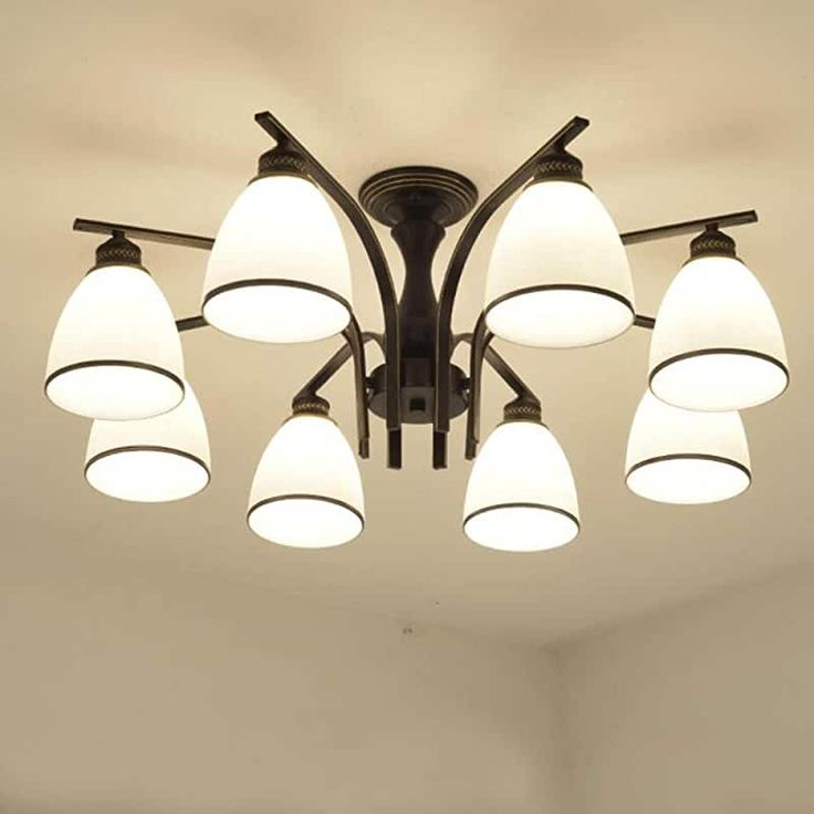 amazon: lamps for bedrooms - mid-century / lighting & ceiling fans: tools & home im… in 2020