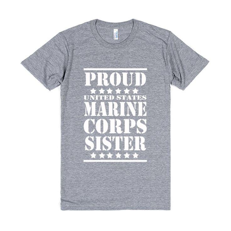 Proud US Marine Corps Sister