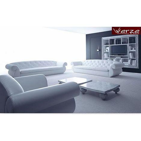 Comfy Home Egose Koltuk Takımı - Beyaz