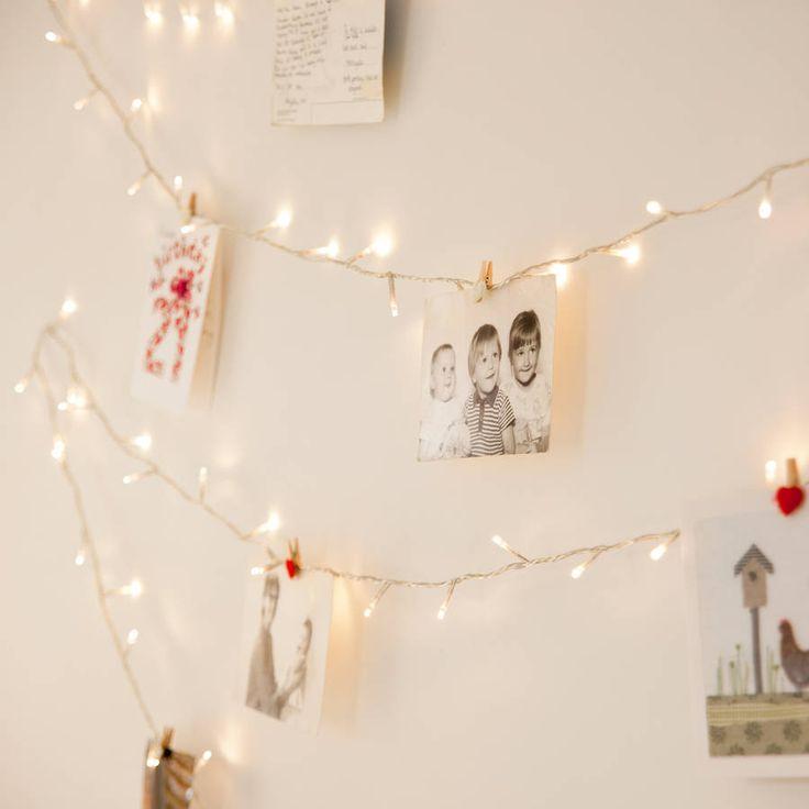 9 best Fairy Lights images on Pinterest | Fairy lights, John lewis ...