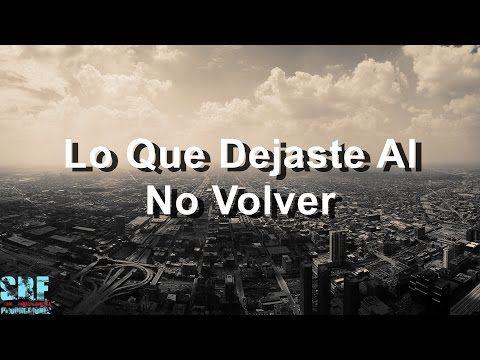 Lo Que Dejaste Al No Volver - Lucas Arnau Ft. Carlos Baute - Buen Camino - YouTube