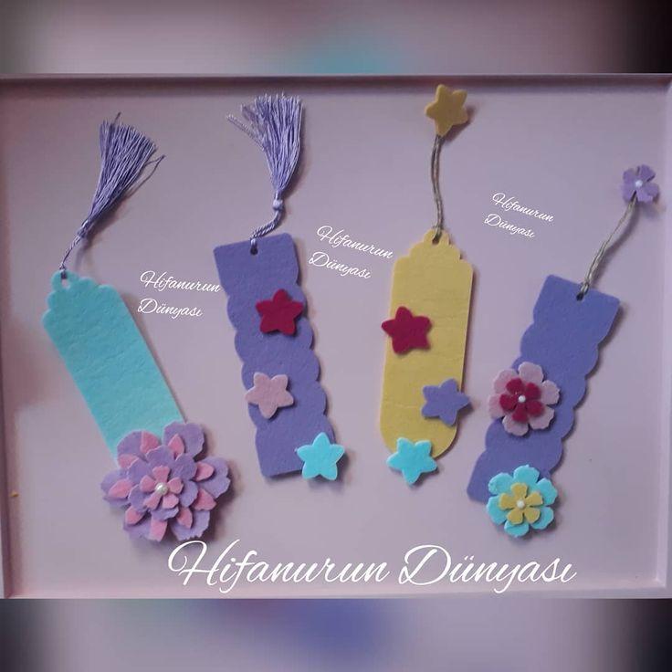 #keçe #bebekşekeri #kapısüsü #kitapayracı #ayraç #felt #feltros #magnet #doğumgünü #takıyastığı #keçemagnet #flowers