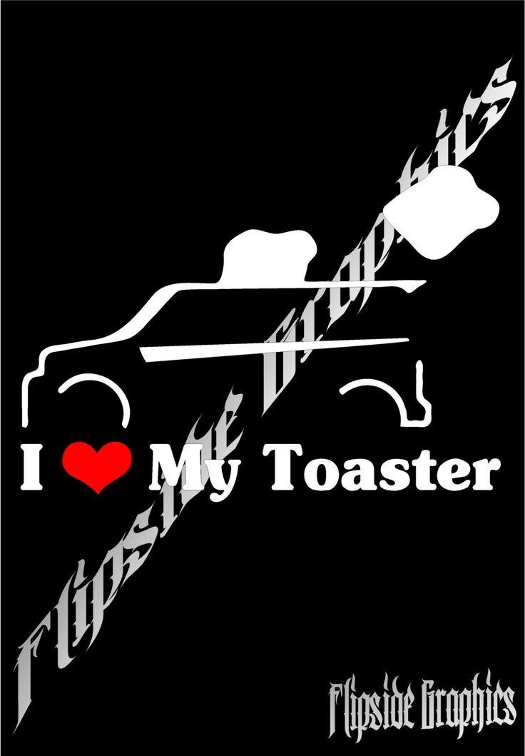 Funny Scion Xb Toaster Decal Windows Cars Trucks Tailgates