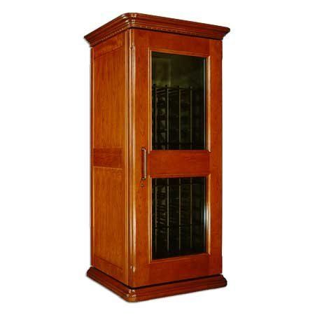 Le Cache Euro 1400 Wine Cabinet - Provincial Cherry finish by Le Cache Premium Wine Cabinets. $4099.00. Hardwood French door. 1-2 Weeks Lead Time. Standard shipping includes inside delivery to a ground floor, setup and removal of packaging. Additional charges may apply depending on delivery conditions.. Premium Cherry wood veneer. Crown and base moldings. Hand-carved wood trim. Designed by acclaimed, Pinnacle Award-winning designer Martin de Blois, our European Country Se...