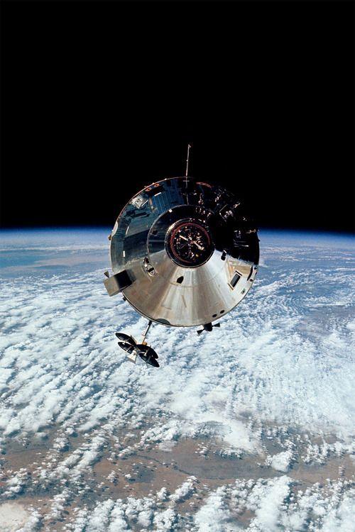 The Apollo 9 Command Module