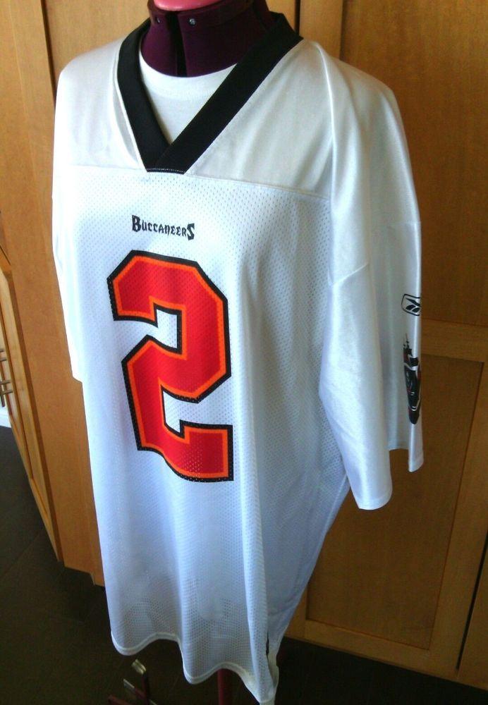 NFL Players Jersey Reebok Chris Simms #2 Tampa Bay Buccaneers Size XL Football t | eBay