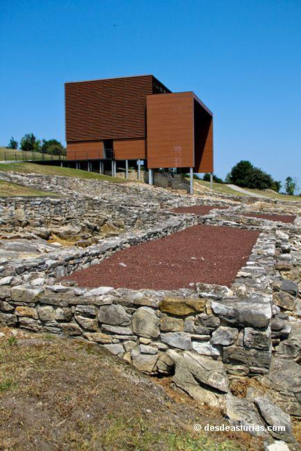 La Villa de Veranes #Gijón. Yacimientos romanos de Asturias [Más info] http://www.desdeasturias.com/villa-romana-de-veranes-gijon/