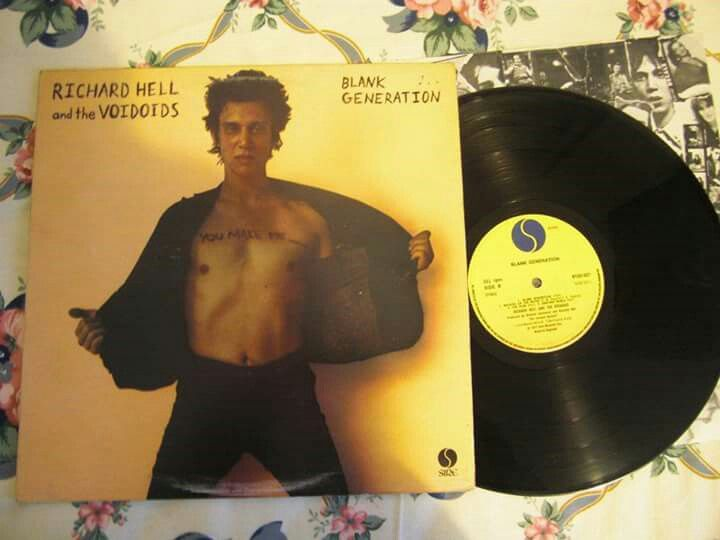 Richard Hell &  The Voidods - Blank Generation (Sire)