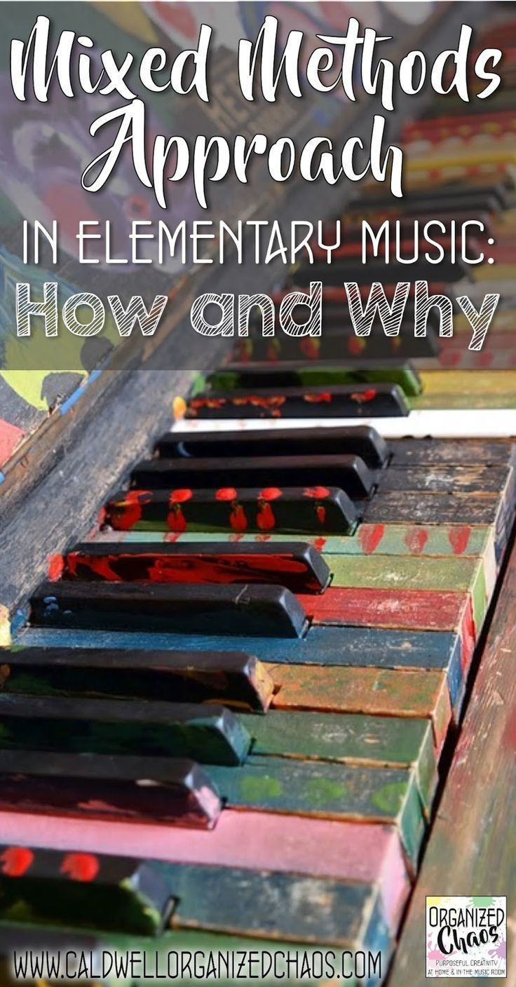 Mixed Methods Approach in Elementary Music: How and Why. Organized Chaos. An explanation of the mixed methods approach to general music teaching, which incorporates elements of various frameworks (like Orff, Kodaly, Dalcroze, MLT, etc) rather than taking
