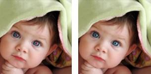 Rode ogen herstellen    Hoe mooi uw foto ook is, het kan natuurlijk zijn dat er hinderlijke elementen zijn die uw foto niet sieren. Dit kunnen bijvoorbeelde de bekende rode ogen zijn: de rode stipjes die kunnen ontstaan door het flitslicht van uw fototoestel. Deze roden ogen verwijderen wij gratis voor u!